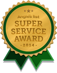 Angie's Super Service Award Winner